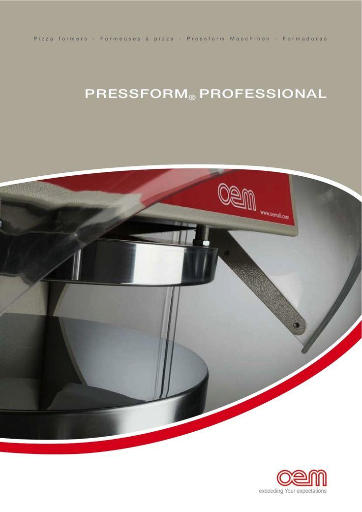 OEM - Pressform Professional PF - Pizzaformers