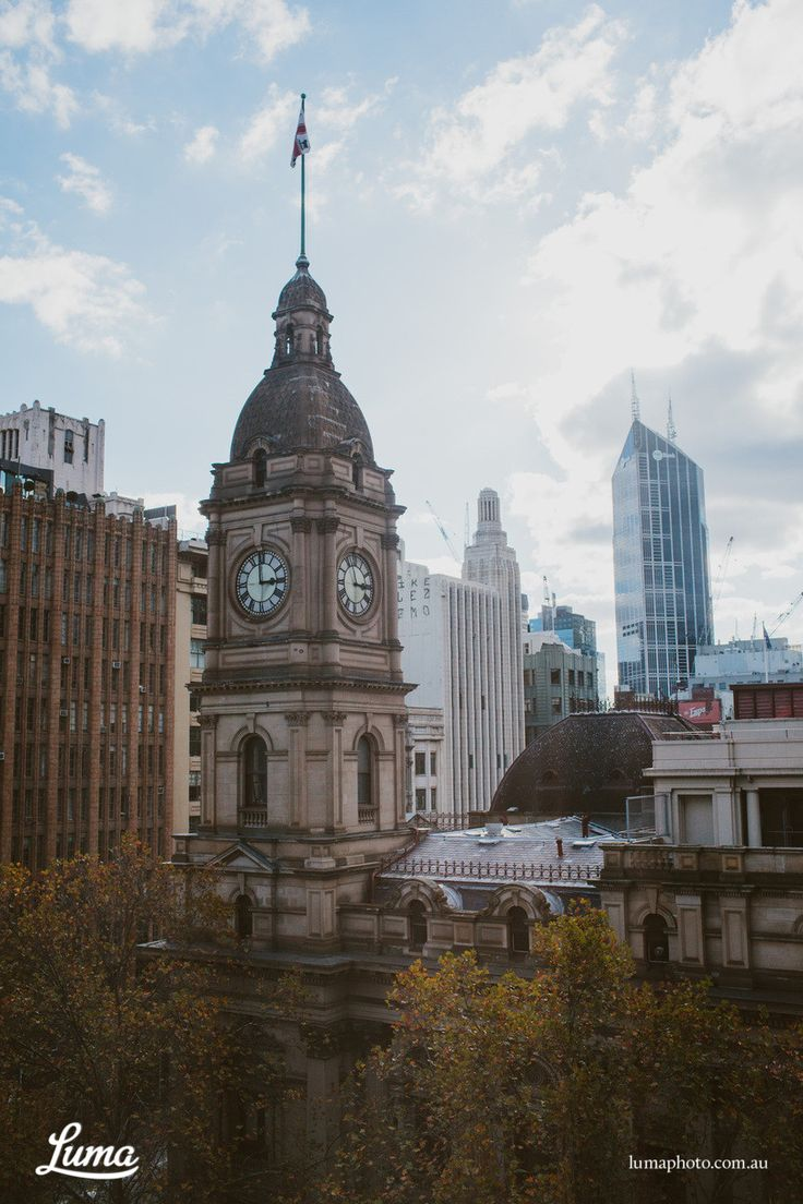 Melbourne Town Hall, a beautiful shot from the beginning of Anna & Paul's wedding #love #venue
