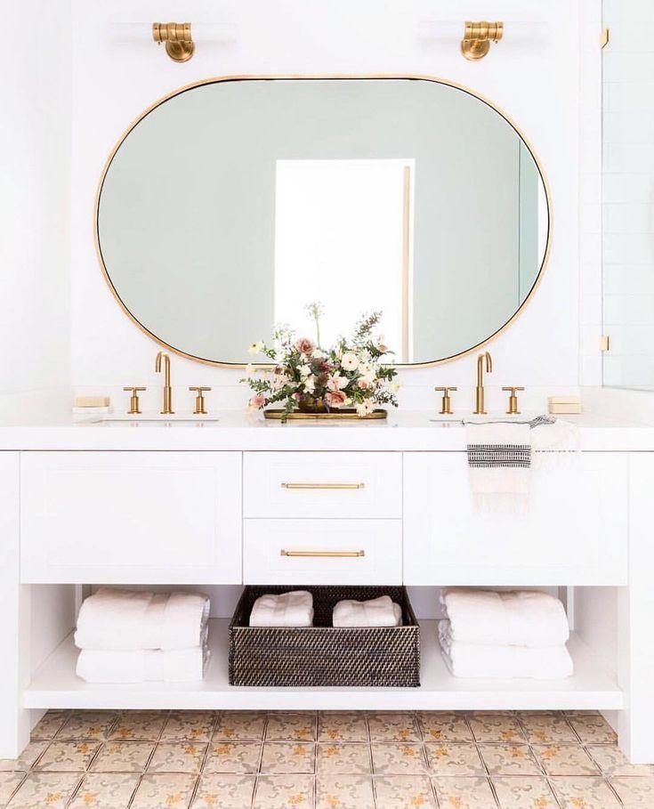 Bathroom Mirror Sinks Lighting Tile With Images Bathroom