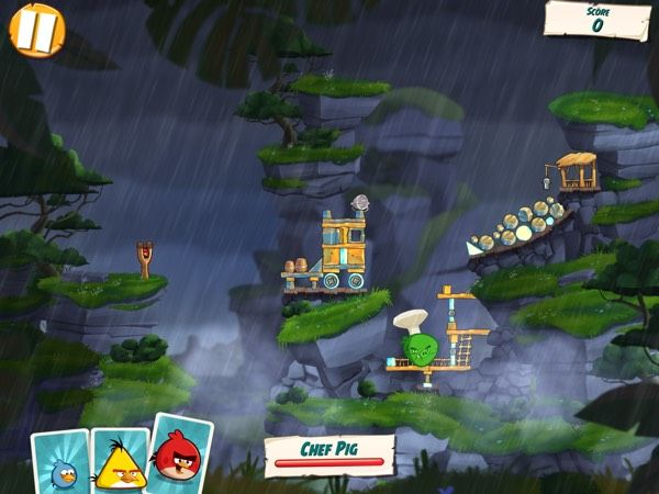 Angry birds under Pigstruction9 boss battle