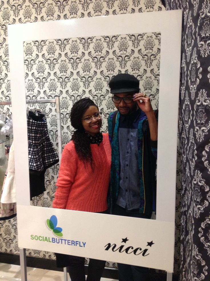 Kele & MJ spotted at the #NicciWinter14 launch