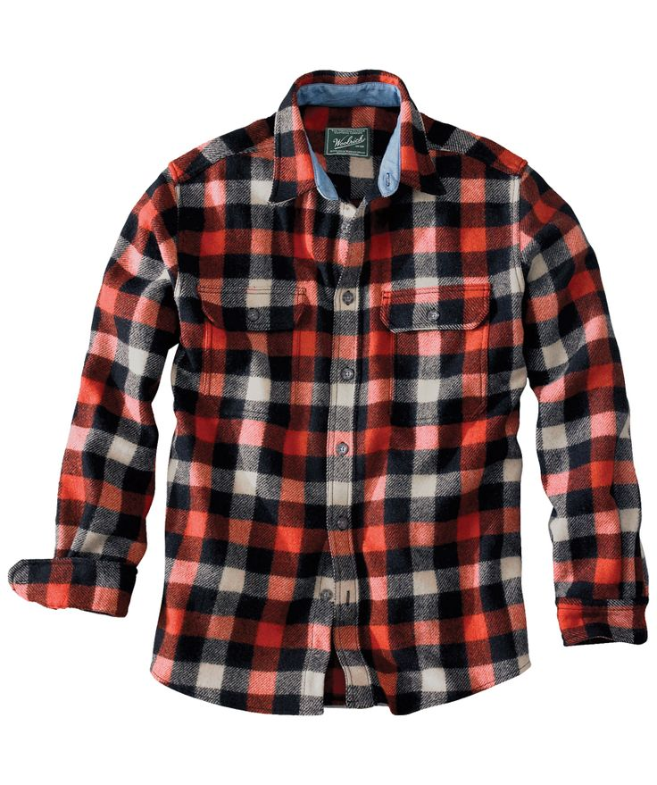 38 best chic sporty fall plaids images on pinterest for Buffalo check flannel shirt jacket