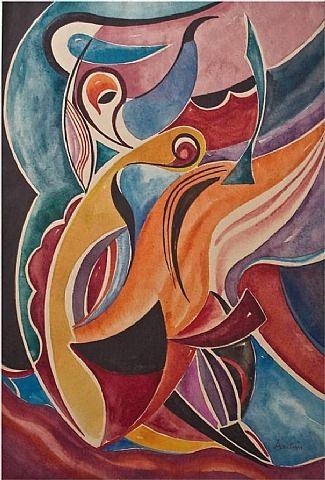 Auguste Herbin, Composition (I)