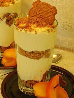Wintertraum: Dessert mit Spekulatius und Mascarponecreme ideal für die Weihnachtszeit. Weihnachtsdessert deluxe