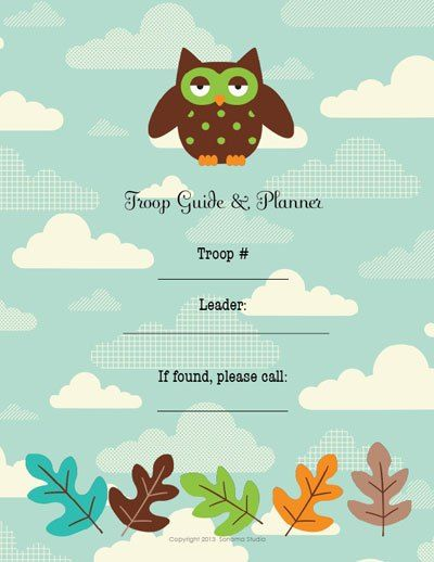 New Troop Leader Guides for yearly planning of your Girl Scout Troop. Also has a PDF download to track badges for all levels.
