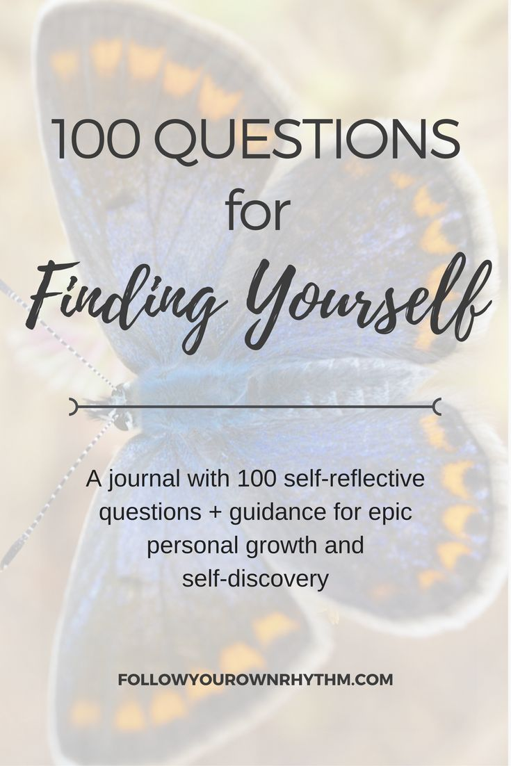A comprehensive guide to finding yourself. 100 self-reflective questions with guidance in between to take you on an epic journey of personal growth and self-discovery. ---self reflection/self-awareness/inner truth/ true self/ workbook/ resources / find your true self