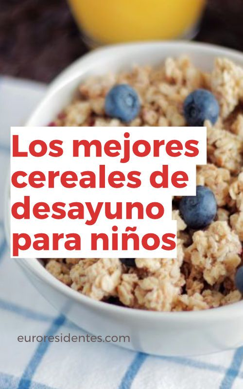 Que cereales son mas saludables
