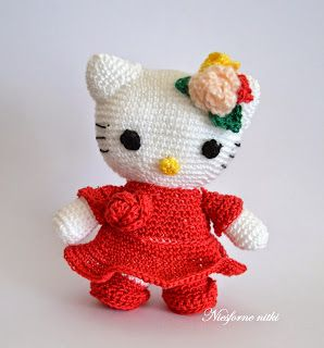 Szydełkowa Hello Kitty