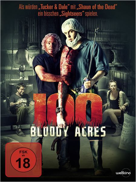 100 Bloody Acres : Kinoposter