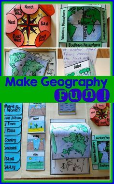 Hands-on tool for teaching basic geography concepts. Throw out the boring textbooks!