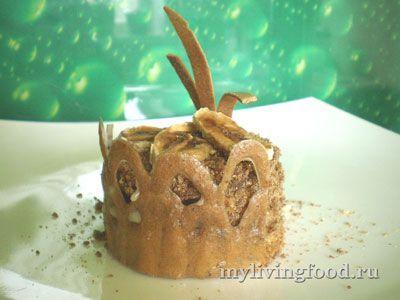 Сыроедческое пирожное «Наполеон»