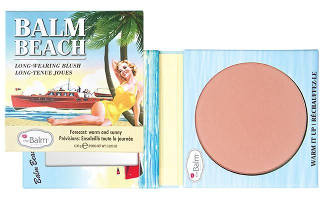theBalm Balm Beach Blush for summer 2016