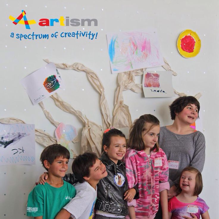 Artism. Art classes for children and adults with #autism amd special needs.