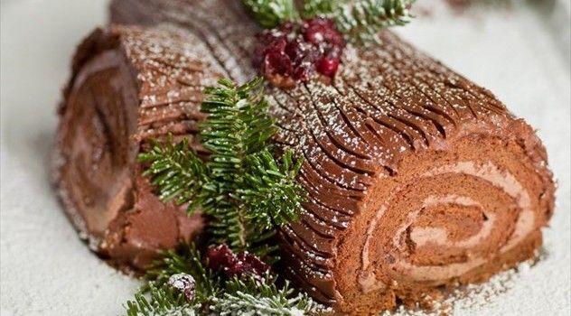 Χριστουγεννιάτικος κορμός κούτσουρο πανεύκολος! | Φτιάξτο μόνος σου - Κατασκευές DIY - Do it yourself