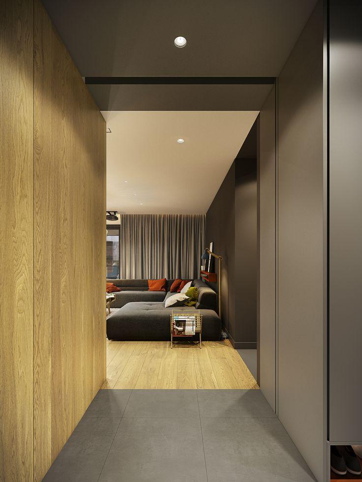Projekt wnętrza domu na śląsku.