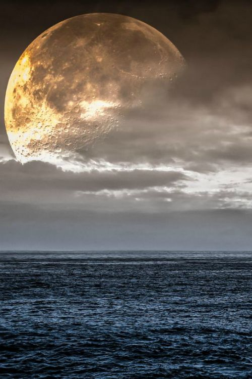 Big Moon by Giorgio Paparelle