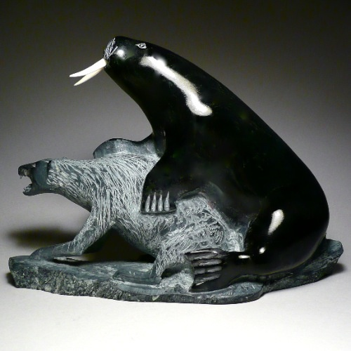 Best images about inuit carvings and art on pinterest