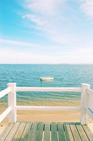 so tranquil: At The Beaches, Decks, Blue, Life A Beaches, Beaches Life, The Ocean, The View, Summer Photography, Front Porches
