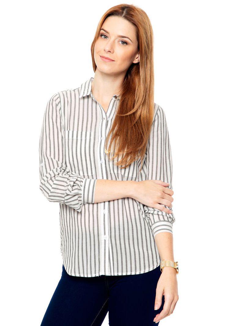 Camisa Gris Julien Stripes - Comprá Ahora | Dafiti Argentina