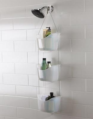 #Shower Caddies Help To Make Compact #Bathroom