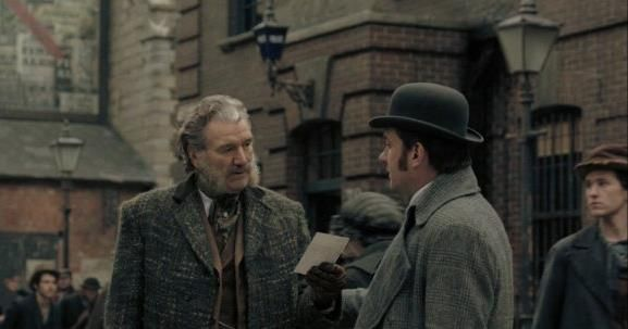 RIPPER STREET 5 interview with Clive Russell | Damian Michael Barcroft