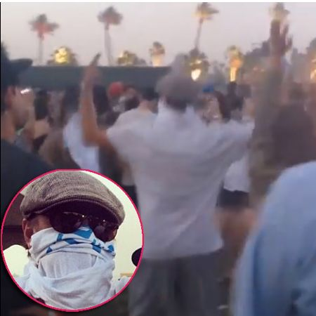 Busting A Move! Leonardo DiCaprio Shows Off WACKY Dancing At Coachella