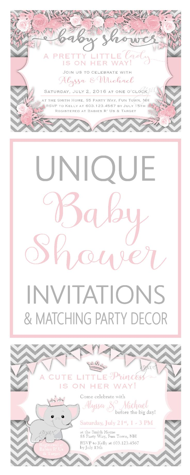258 best Baby Shower Invitation Ideas images on Pinterest ...