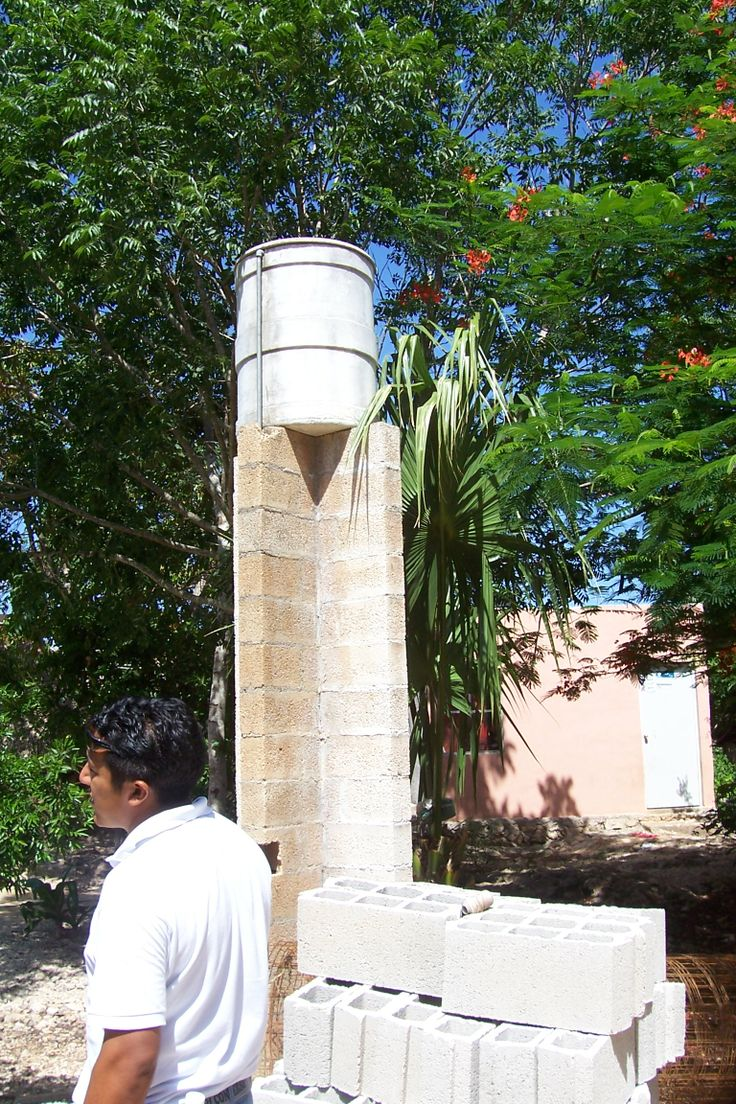 Mayan village water system , how lucky are we !