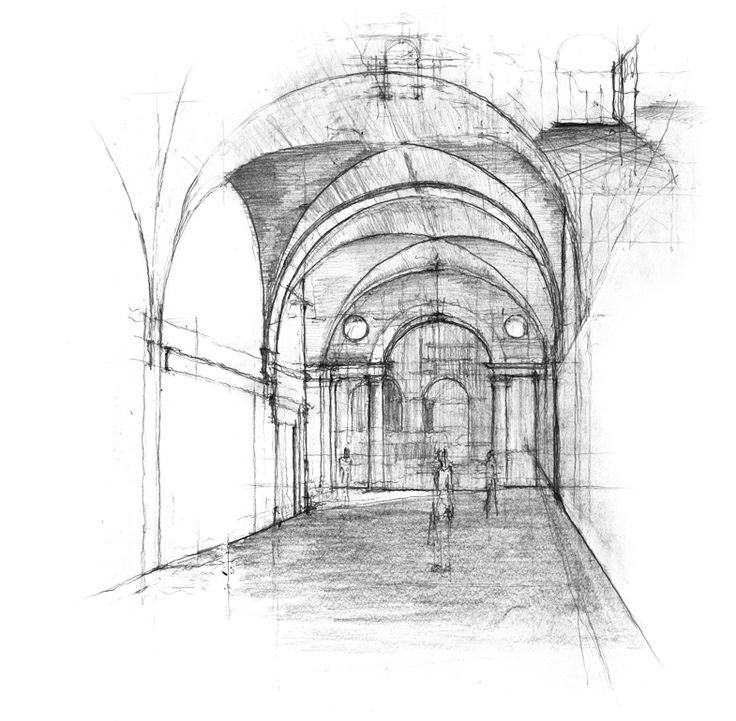 Architecture Drawing Techniques the 155 best images about sketches on pinterest | tadao ando