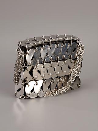 ... Paco Rabanne Vintage 'Iconic Metallic' bag