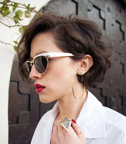 Short Wavy Pixie for Women