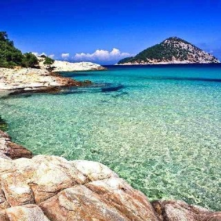 Thasos island, Greece. Stayed here during my visit to Greece & would love to go back.