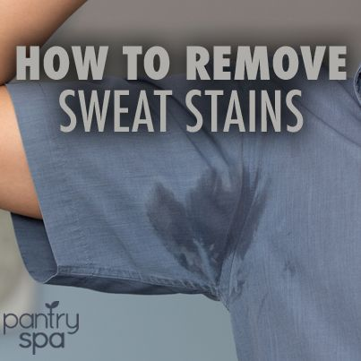 How to remove sweat antiperspirant deodorant stains for How to prevent sweat stains on shirts