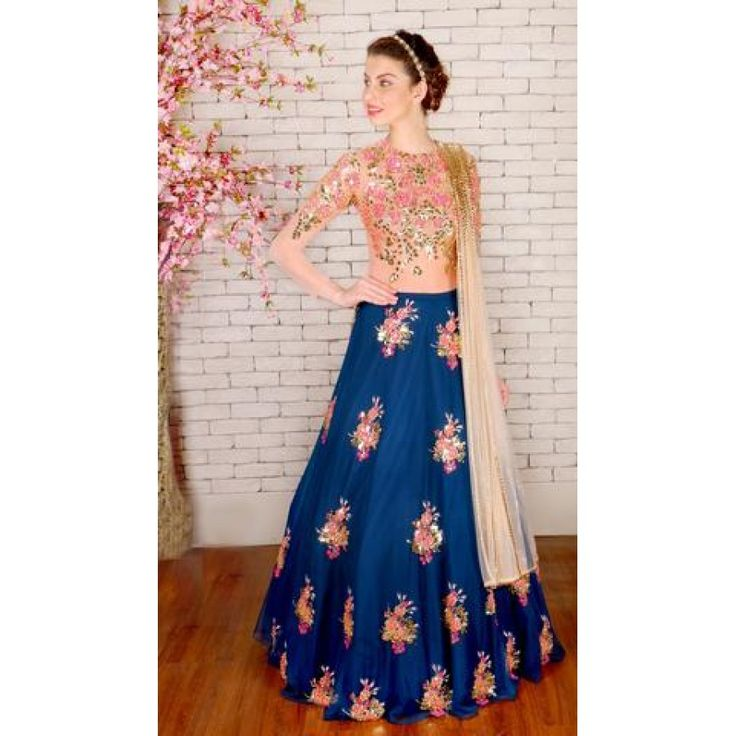 Fancy Blue Color Heavy Embroiderey Work Semi Stitch Lehenga Choli at just Rs.2115/- on www.vendorvilla.com. Cash on Delivery, Easy Returns, Lowest Price.