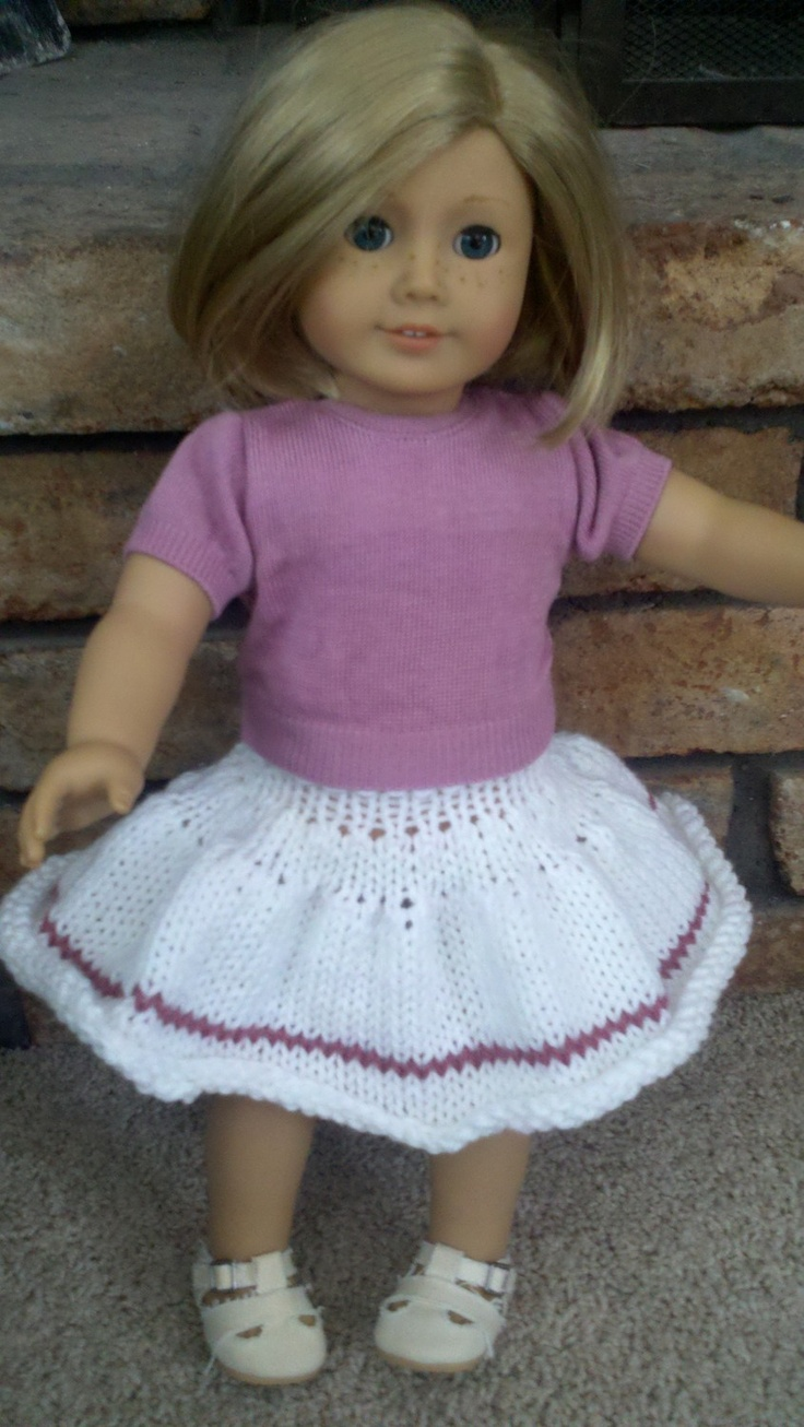 Free Knitting Pattern Dolls Jumper : 17 best images about 18 inch doll clothes on Pinterest ...