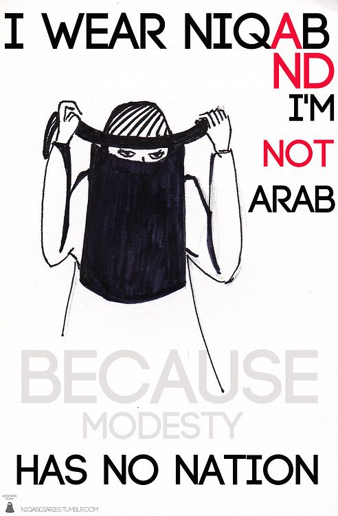 When people tell me I'm being anti-Arab when I criticize Islam I show them things like this made by actual Muslims. Then I ask why they are supporting modesty culture which is really just rape culture.