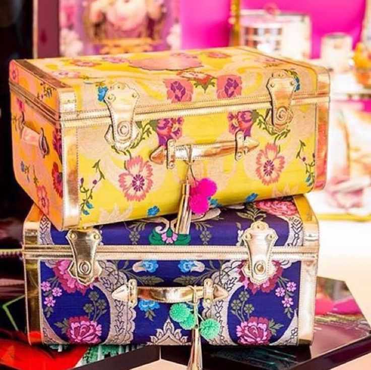 Casapopofficial # hand crafted trunks for gifting or wedding trousseau decor # Indian weddings