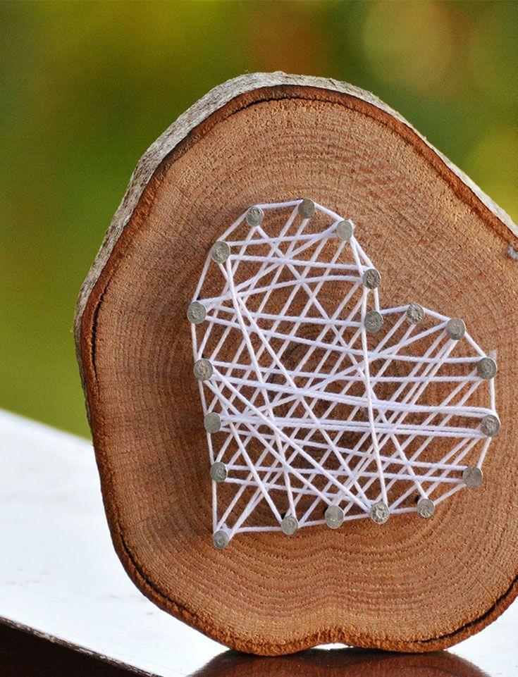 Holzscheiben – 6 DIY-Ideen für ein rustikales Dekor