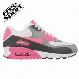 nike air max 90 essential bianca rosa grigia 616730 102