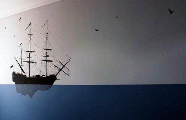 barco - Silvestre Pejac