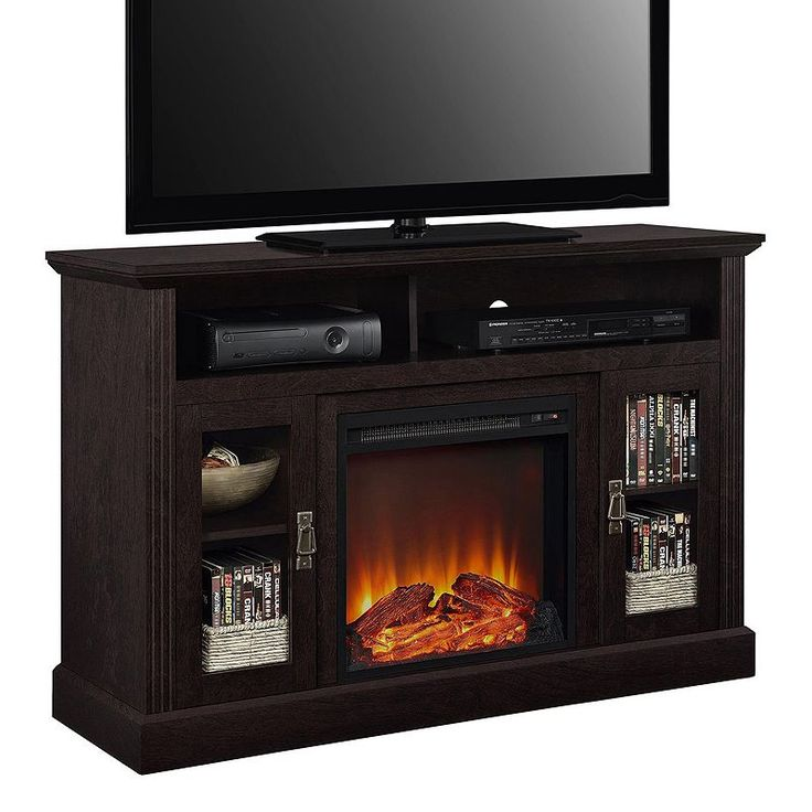 The 25 best ideas about fireplace tv stand on pinterest for Best electric furniture
