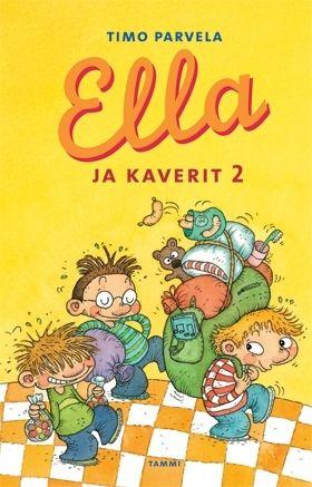 Ella ja kaverit 2 on tukeva pakettti silkkaa riemua. Se sisältää kirjat Ella ja lopettaja, Ella ja Pate, Ella ja Pukari sekä Ella yökoulussa. Tarinat ovat aiemmin ilmestyneet yhteisniteenä nimellä Ella ja kaverit 4--7.