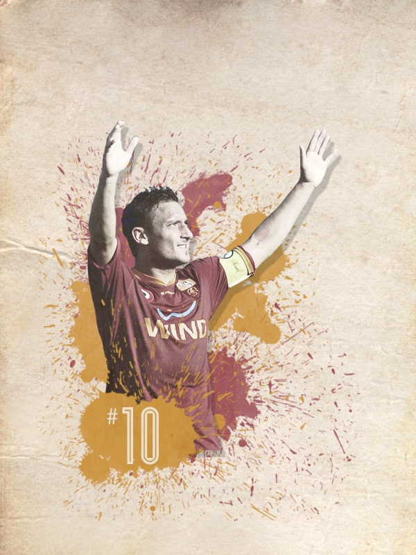 Footballers of the World by Sean Rainey, via Behance
