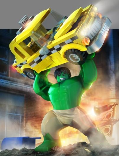 LEGO Hulk -- New Character Images and Concept Art for LEGO Marvel Super Heroes | Superhero Hype