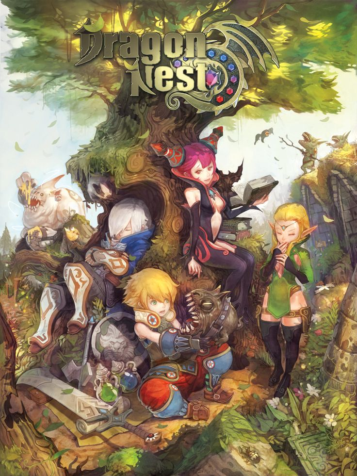 Dragon Nest: Awesome Action MMORPG.  I'm surprised my computer can handle it!