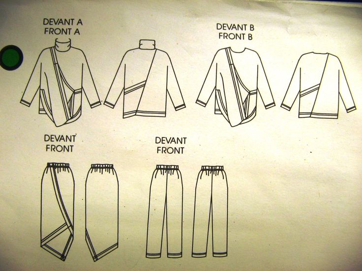 Issey Miyake Vogue Individualist Top Skirt Pants Pattern 1618 Sz 12 Uncut 1985 | eBay