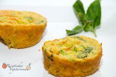 Receita de Muffin de cenoura e abobrinha | Pimenta e Sal, receitas para o…