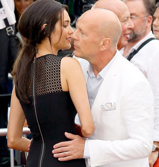 Bruce Willis and wife Emma Heming