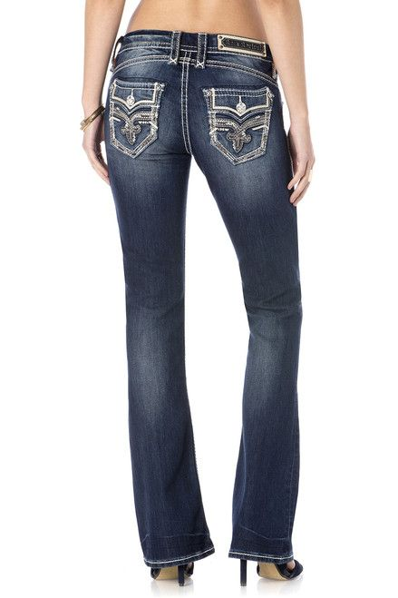 Rock Revival Gaia Boot Cut Jeans