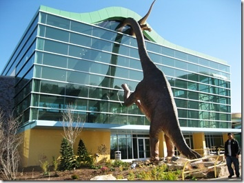 The Indianapolis Children's Museum is as cool on the inside as it is on the outside.  That's pretty darn cool.